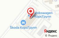 Схема проезда до компании Авто-Славия в Грабцево