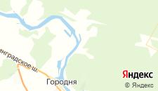 Отели города Судимирка на карте