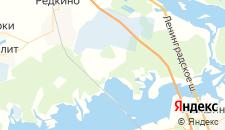 Отели города Борцино на карте