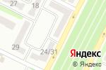 Схема проезда до компании Нотариус Сущенко В.В. в Харькове