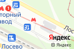 Схема проезда до компании Надія в Харькове