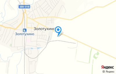 Местоположение на карте пункта техосмотра по адресу Курская обл, рп Золотухино, ул Куйбышева, зд 40Д