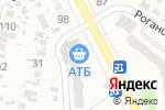 Схема проезда до компании Банк 24 в Харькове