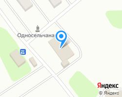 Схема местоположения почтового отделения 301520