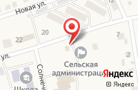 Схема проезда до компании Продуктовый магазин в Пушкарном
