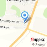 Белая Пуля на карте Белгорода