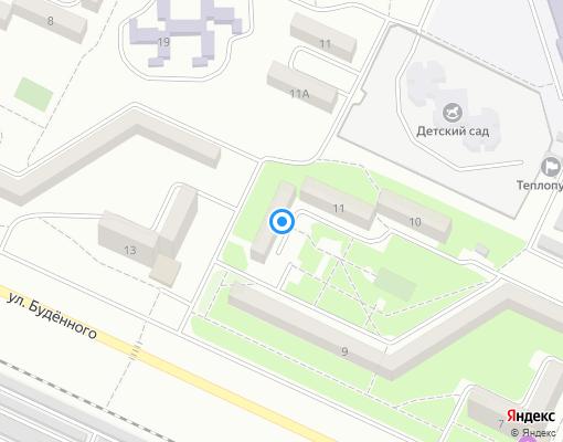 Жилищно-строительный кооператив «№21-КЕРЧЬ» на карте Керчи