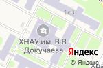 Схема проезда до компании Каприз в Докучаевском