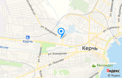 Местоположение на карте пункта техосмотра по адресу Респ Крым, г Керчь, ш Вокзальное, д 44
