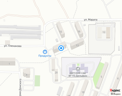 Товарищество собственников жилья «БРИГАНТИНА» на карте Керчи