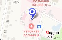 Схема проезда до компании ТУЧКОВСКАЯ РАЙОННАЯ БОЛЬНИЦА в Тучково