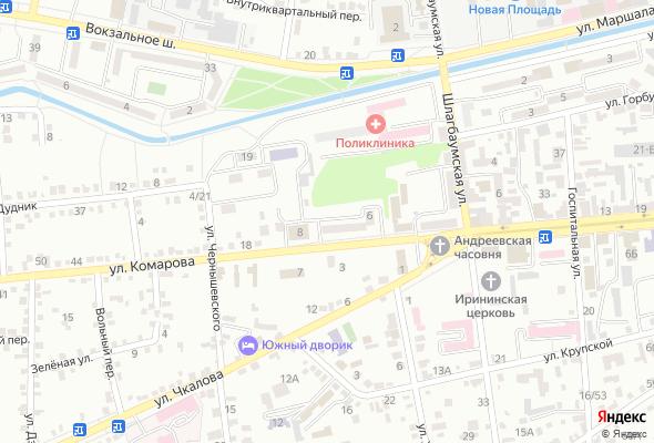 жилой комплекс Комарова, 6