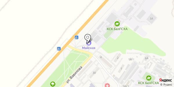 АЗС Майская. Схема проезда в Майском