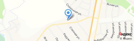 Производственно-монтажная компания на карте Стрелецкого