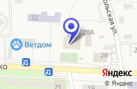 Схема проезда до компании ШКОЛА СРЕДНЕГО ОБЩЕГО ОБРАЗОВАНИЯ № 1 в Тучково