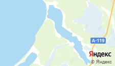 Отели города Гонгинская на карте