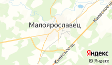 Отели города Малоярославец на карте