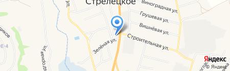 Стрелец на карте Стрелецкого