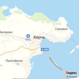 Карта города Керчи