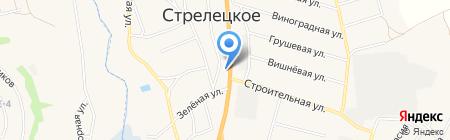 АЗС Роснефть на карте Стрелецкого