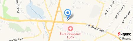 АЗС Импульс на карте Стрелецкого