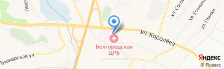 Детская поликлиника на карте Стрелецкого
