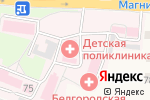 Схема проезда до компании Детская поликлиника в Стрелецком