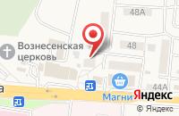 Схема проезда до компании Стоматология в Стрелецком