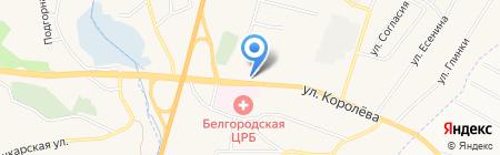Магазин текстиля для дома на карте Стрелецкого