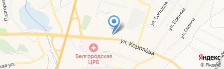 Стоматология на Королёва на карте Стрелецкого