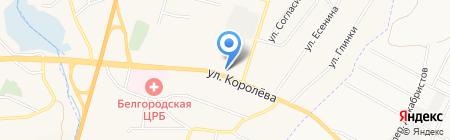 Центрально-Черноземный Банк Сбербанка России на карте Стрелецкого