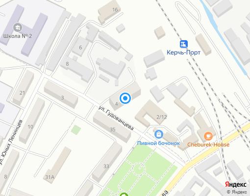Управляющая компания «ЖИЛСЕРВИСКЕРЧЬ» на карте Керчи