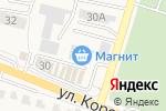 Схема проезда до компании Магнит Косметик в Стрелецком