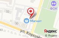 Схема проезда до компании Дары Севера в Стрелецком