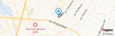 Белстройпром на карте Стрелецкого