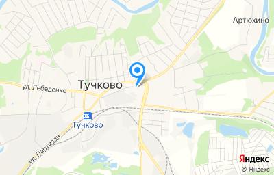 Местоположение на карте пункта техосмотра по адресу Московская обл, г Руза, рп Тучково, ул Кирова, д 2