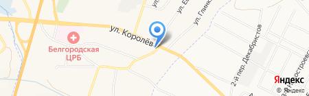 Рай на карте Стрелецкого