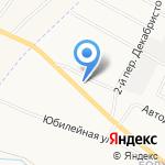 Форт на карте Белгорода