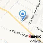 Чистая Гавань на карте Белгорода
