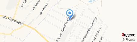 Интеркомплект на карте Белгорода
