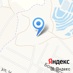 Богатырь на карте Белгорода