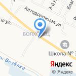 Стройхозбыттовары на карте Белгорода