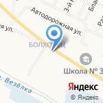 Магазин автоэмалей на карте Белгорода