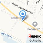 Почтовое отделение №25 на карте Белгорода