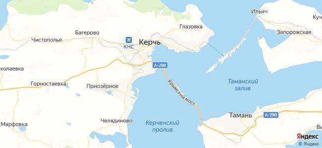 Эллинги Керчи - объекты на карте