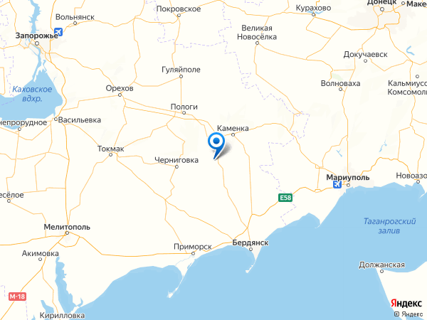 село Вершина Вторая на карте