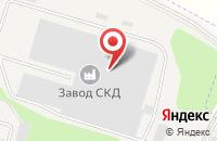 Схема проезда до компании Кристэль - М в Малоярославце