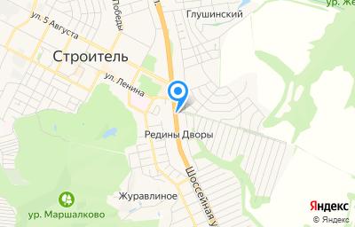 Местоположение на карте пункта техосмотра по адресу Белгородская обл, Яковлевский р-н, х Редины Дворы, ул Магистральная, д 1
