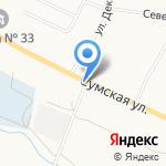 Олимп на карте Белгорода