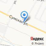 Мартини на карте Белгорода